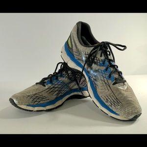 Asics Gel-Nimbus 17 Gray/Blue Athletic Guidance